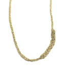 Gold Crochet Necklace