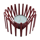 Candle Holder - Red