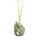 Pyrite Nugget Necklace - I